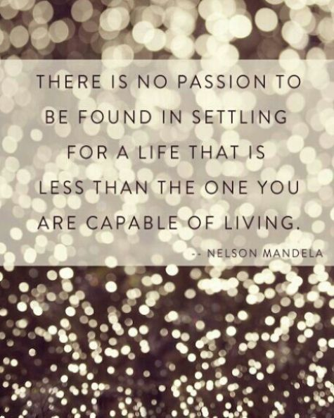 there is no passion found